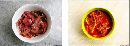 第2步具有中国特色的韩式豆腐锅的家常做法图片步骤
