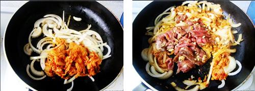 第4步具有中国特色的韩式豆腐锅的家常做法图片步骤