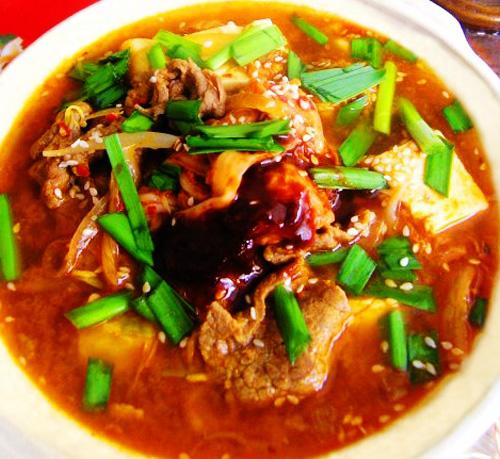 第6步具有中国特色的韩式豆腐锅的家常做法图片步骤