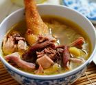 胡椒猪肚炖鸡汤的做法