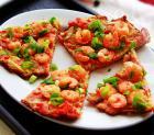 营养开胃便当虾仁鸡蛋饼的做法图解_如何做,虾仁鸡蛋饼怎么做好吃