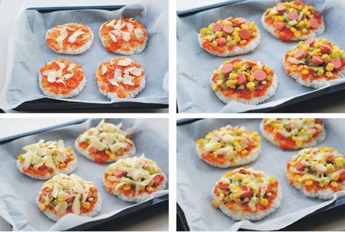 第3步米饭披萨的家常做法图片步骤