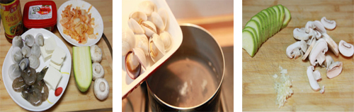 第2步带来异国风情的韩式泡菜海鲜锅的家常做法图片步骤