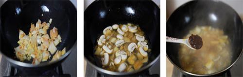第3步带来异国风情的韩式泡菜海鲜锅的家常做法图片步骤