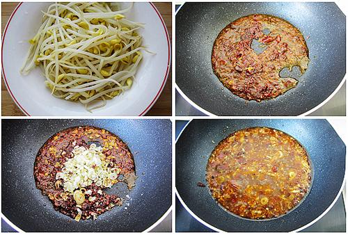 第4步肉质爽脆麻辣味浓的水煮香辣虾的家常做法图片步骤