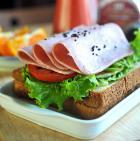 肉蛋双夹三明治的做法