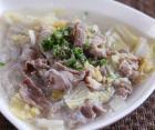 冬季养生煲汤 白菜粉丝羊肉汤的做法图解,如何做,白菜粉丝羊肉汤怎么做好吃