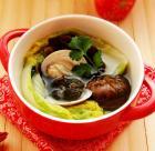 海参文蛤滋补汤的做法