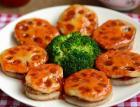 香煎泰式甜辣藕饼的做法