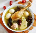 肉丸鸡汤的做法