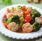 家常小炒 西兰花炒虾球的做法图解,如何做,西兰花炒虾球怎么做好吃