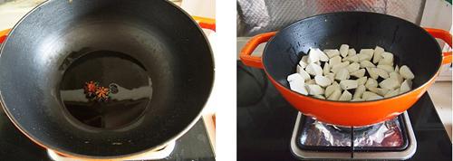 第3步油焖茭白的家常做法图片步骤