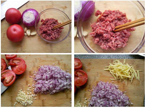 第3步芝士焗肉酱意面的家常做法图片步骤