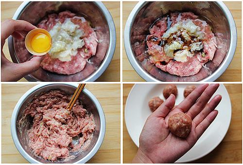 第4步泰式甜辣小丸子的家常做法图片步骤