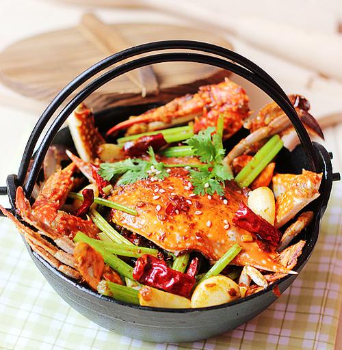 精制香辣蟹的做法图解,如何做,精制香辣蟹怎么做好吃的做法