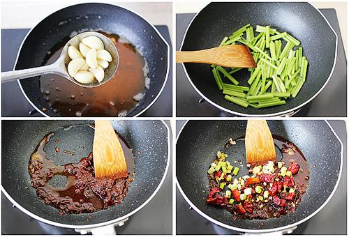 第5步精制香辣蟹的家常做法图片步骤