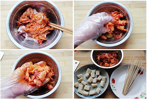 第5步韩式年糕串的家常做法图片步骤