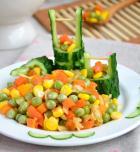 榨菜胡萝卜黄瓜丁的做法