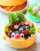 企鹅饭团的做法