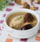 羊肚蘑炖鸡的做法