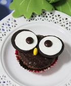 猫头鹰杯子蛋糕的做法