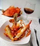 茄汁蟹的做法