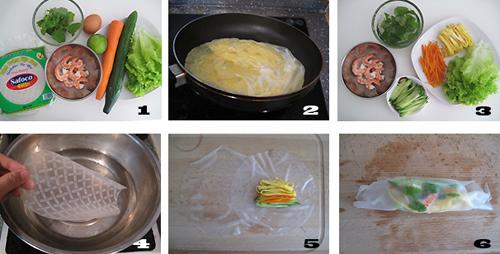 第2步越南春卷的家常做法图片步骤