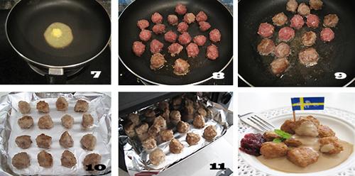 第3步瑞典肉丸的家常做法图片步骤