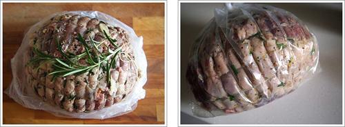 第9步烤澳洲去骨网纹羊腿的家常做法图片步骤
