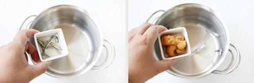 第4步减肥又排毒的日式味增汤的家常做法图片步骤