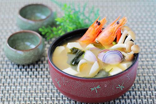 第8步减肥又排毒的日式味增汤的家常做法图片步骤