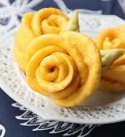 燕麦玫瑰花卷的做法