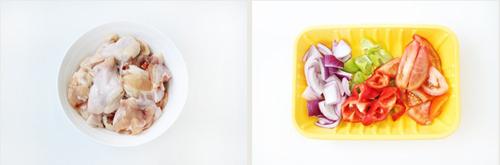 第3步外酥里嫩的黑椒番茄炒鸡的家常做法图片步骤