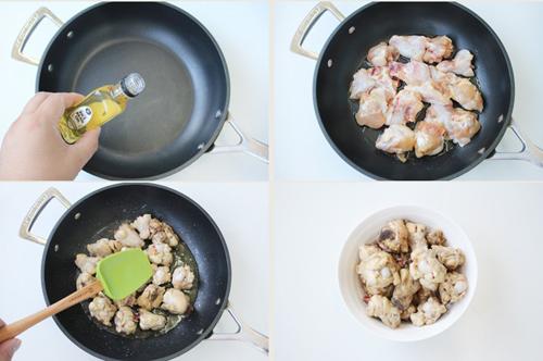 第4步外酥里嫩的黑椒番茄炒鸡的家常做法图片步骤