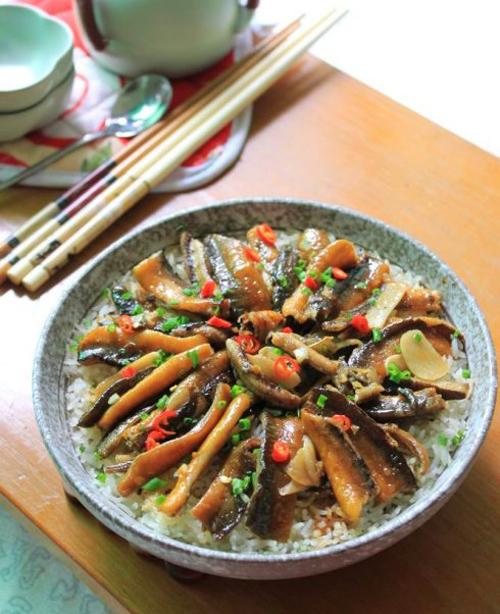 精制私房黄鳝饭的做法