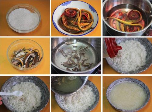 第2步精制私房黄鳝饭的家常做法图片步骤