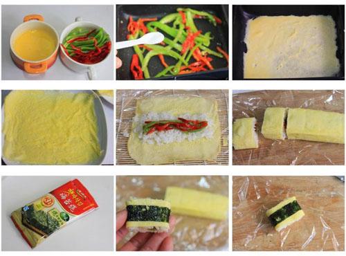 第3步辣椒小饭团的家常做法图片步骤