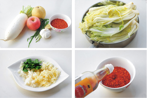 第2步韩式泡菜的家常做法图片步骤
