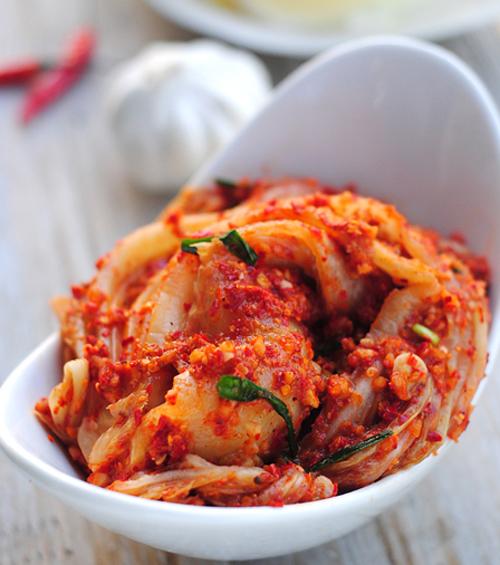 第4步韩式泡菜的家常做法图片步骤