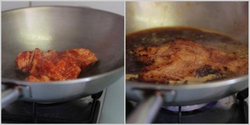 第3步不用烤箱轻松做出美味的韩式烧肉的家常做法图片步骤