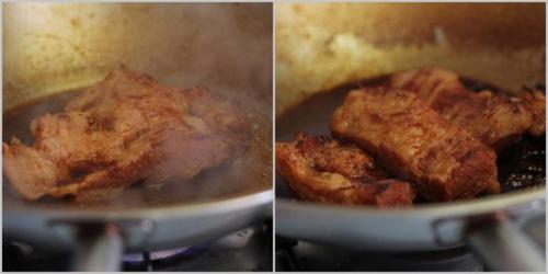 第4步不用烤箱轻松做出美味的韩式烧肉的家常做法图片步骤