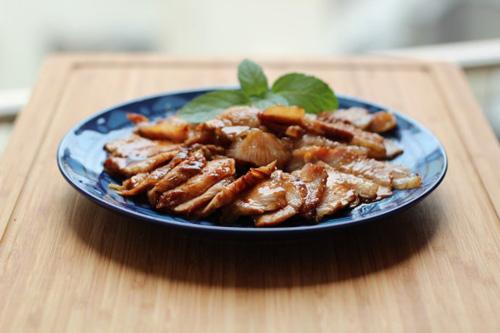 第5步不用烤箱轻松做出美味的韩式烧肉的家常做法图片步骤