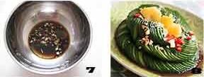 第3步10分钟巧用道具自制酸辣开胃的春季精致小凉菜的家常做法图片步骤