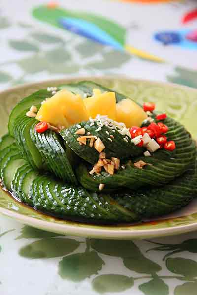 第5步10分钟巧用道具自制酸辣开胃的春季精致小凉菜的家常做法图片步骤