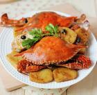 年糕豉香蟹的做法