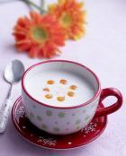 木瓜杏仁奶茶的做法