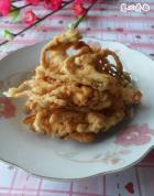 椒盐脆皮香椿鱼的做法