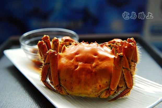 陈年花雕焗大闸蟹的做法,怎么做,陈年花雕焗大闸蟹如何做好吃详细步骤图解