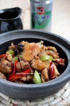 干锅香辣啤酒鸡的做法