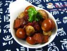 口蘑鹌鹑蛋烧肉的做法